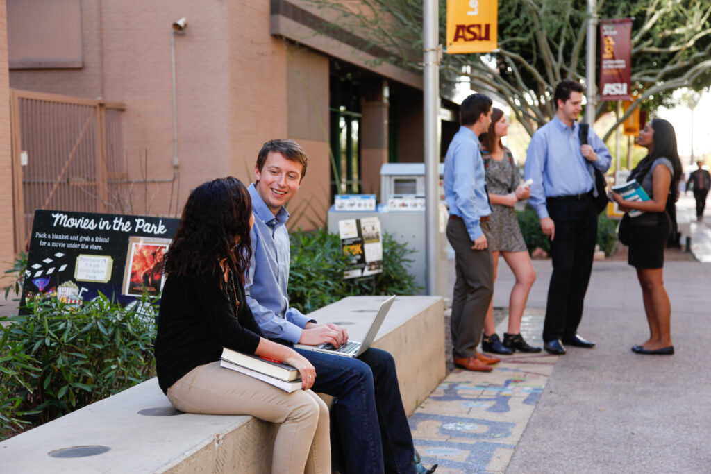 Arizona State University ranked #5 in the nation for best-qualified graduates