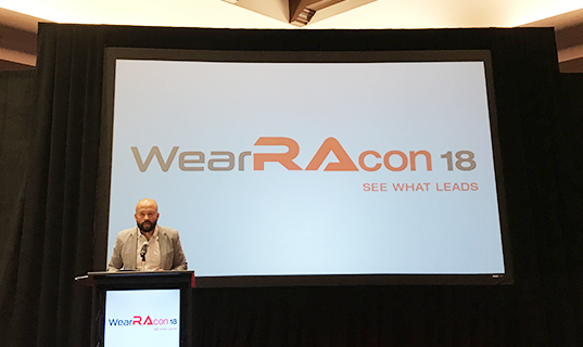 WearRAcon18 speaker - Wearable Robotics Greater Phoenix