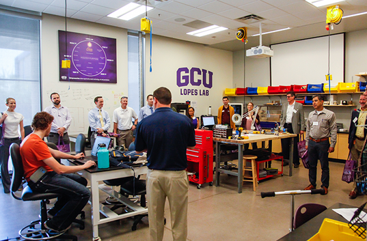 The Innovation Lab at Grand Canyon University