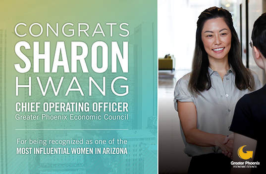 Learn more about Sharon Hwang, our chief operating officer, and one of the Most Influential Women in Arizona for 2019 by Az Business and AZRE magazines.