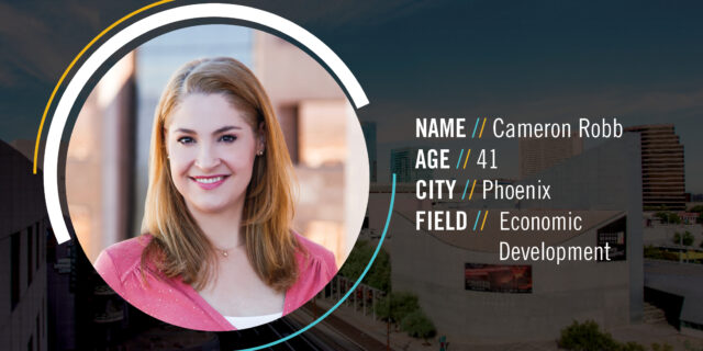 What do you love most about living in Greater Phoenix? Cameron Robb says it's how our region is expanding, always growing and always trying something new.