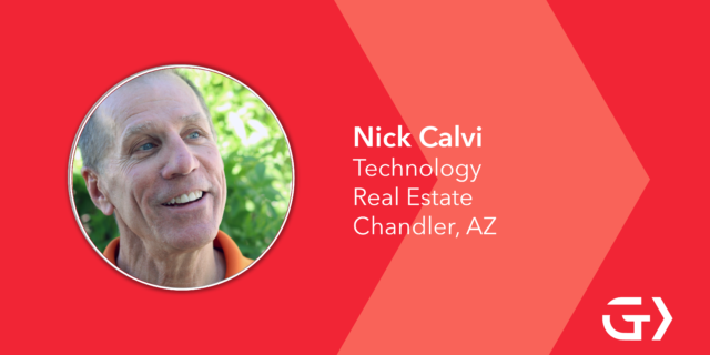 What do you love most about living in Greater Phoenix? Nick Calvi says he loves living in Greater Phoenix because of the weather, people and FREEways.