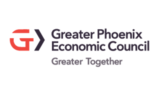 Greater Phoenix Economic Council Logo with Tagline